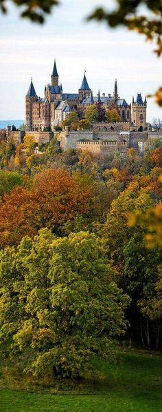 Hohenzollern castle, south of Stuttgart, Germany. Gosh, Germany has so many beautiful castles! Beautiful Castles, Beautiful Buildings, Beautiful World, Beautiful Places, Real Castles, Places Around The World, The Places Youll Go, Places To See, Around The Worlds