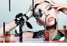 Ondria Hardin Stuns in Dior Magazine Beauty Shoot