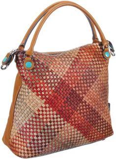 GABS GSAC LUXINT M INVI, Damen Henkeltaschen 31x30x12 cm (B x H x T): Amazon.de: Schuhe & Handtaschen