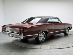 """1967 Chevrolet Chevelle Malibu Sport Coupe.  Chop the top 3"""", radial T/A 50s…"""
