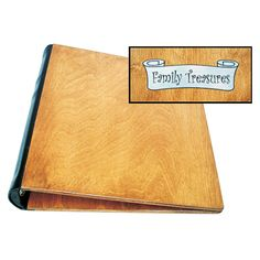 This quality hand-made Baltic Birch Photo Album in Natural finish with molded leatherette binding. Also available in two other finishes: Medium Brown and Cherry, the Photo Albums can be used as standard albums or even scrapbooking memory books. The Albums are equipped with 3-ring binders for conv...