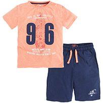 Conjunto de pantalón y camiseta de punto