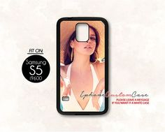 lana del rey for Samsung S5 Black case