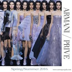 ARMANI PRIVE Gown Spring 2016 Collection