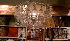 cool wine glass Chandalier