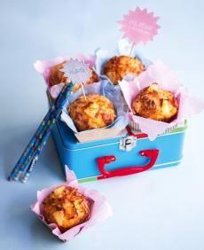 Recepty: Slané muffiny sananasem
