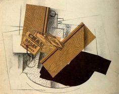 Braque, Nature morte sur une table, 1914