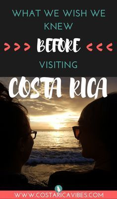 Things You Need to Know Before Visiting Costa Rica Costa Rica is an amazing country to visit, but there are some things you should know before visiting Costa Rica. Here are tips for budget, food, transportation and more! Puntarenas, Honduras, Belize, Cost Rica, Costa Rica Adventures, San Jose Costa Rica, Jamaica, Costa Rica Travel, Viajes