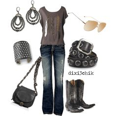 Concert attire perhaps. Country Outfits, Country Girls, Country Fashion, Country Music, Country Wear, Country Casual, Casual Fall, Country Style, Estilo Cowgirl