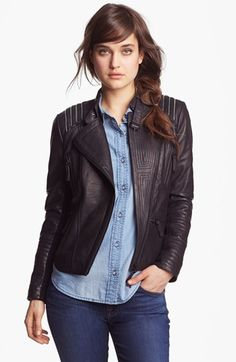 How To Wear: A Leather Jacket www.HowToWearEverything.com