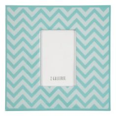 #Zgallerie Love this Zig Zag Frame - Aquamarine from Z Gallerie