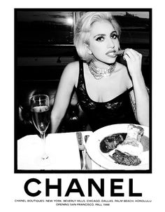 Lady Gaga for Chanel. Lady Gaga Fashion, World Of Fashion, Images Lady Gaga, Lady Gaga Artpop, She Is Gorgeous, Beautiful, Crazy Dresses, Bangkok, Brand Collection