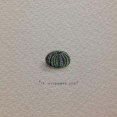 """Day 318 : ń Groen seepampoentjie, """"van jou Pampoen, op ons 5e huweliks-herdenking"""". 12 x 8 mm"""