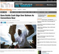 Bane builds $62 million cash edge on Batman as conventions near
