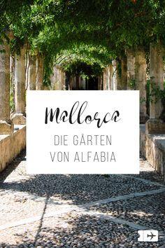 Die Jardines d'Alfabia in Mallorca liegen auf dem Weg nach Soller - eine grüne Oase zum Erholen und Entspannen! Perfekt für einen Ausflug auf Mallorca!