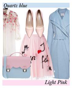 """Quartz & Pink"" by elisapar ❤ liked on Polyvore featuring Vince, P.A.R.O.S.H., La Cartella, women's clothing, women's fashion, women, female, woman, misses and juniors"