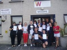 ITEC Sports massage students at the waverley academy