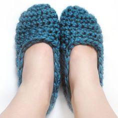 #Crochet Pattern: Super Quick Slippers (9 Sizes) for sale @CrochetSpot