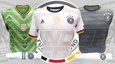 #camiseta ser una de las potencias del mejor deporte del mundo el fútbol, Alemania campeón mundial de este gran deporte. #fútbol #Alemania #uniformes #camiseta Motorcycle Jacket, Jackets, Fashion, World, Germany, T Shirts, Sports, Down Jackets, Moda