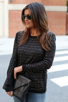 Joie Studded Top