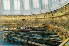 Salle de lecture du British Museum, Londres