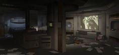 ArtStation - Alien: Isolation Concept art, Edouard Caplain