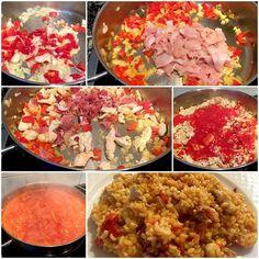 Esta receta de arroz con pollo y jamon será una receta que encantara a los tuyos, una receta sencilla para hacer cualquier día a la hora de la comida como plato único. Nosotros utilizamos arroz integral en nuestras recetas pero puedes sustituirlo arroz normal, aunque no lo aconsejamos. #RecetasGalaicus #receta #arroz