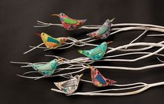 With so many varieties of birds in the world, it's only natural that fabric birds would inspire a mixed-media project that also makes a great handmade gift.