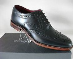Loake Design Calf Leather Goodyear Welted Oxford Brogue: Fearnley Rrp