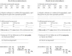 EDUCATIA CONTEAZA : ADUNARI SI SCADERI (0-1 000 000) - CU SI FARA TRECERE PESTE ORDIN / EXERCITII / PROBLEME / INMULTIRI SI IMPARTIRI / UNITATI DE MASURA / FIGURI GEOMETRICE Algebra, Geometry