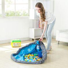 Kids Toys Storage Bag Foldable Drawstring Beam Port Finishing Home Organizer Wholesale Bulk Accessories Supplies Items product