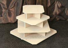 Cupcake Stand MDF Wood Unfinished Sale 29.00 Reg Price 34.00