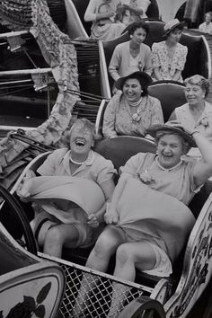 You can choose to live your life with the joy of the front row or solemness of the third row.hmmmmm--let me think. Front Row Please! I can think of a friend that would ride on the front row with me:)) I Smile, Make Me Smile, Quote Of The Week, Jolie Photo, Live Your Life, Vintage Photos, Old Photos, I Laughed, The Row