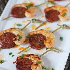 Shrimp & Sausage Appitizer