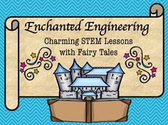 Engineering and fairy tales are the perfect combination for an integrated STEM lesson that promotes problem solving, perseverance, and collaboration. Science Activities, Activities For Kids, Preschool Science, Primary Science, Interactive Activities, Science Books, Computer Science, Fairy Tale Projects, Fractured Fairy Tales