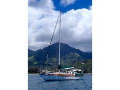 1961 Frans Mass Shipyard Sabina sailboat for sale in California Sailboats For Sale, Wind Turbine, California, Steel, Steel Grades, Iron