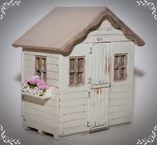 SOLD on Ebay UK - Dolls house miniature 1/12th scale Shed/Summer House & LOTS of accessories! by loved_once_more (me)