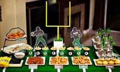 Super bowl party printables! Maybe if the Cowboys are good enough to be back in it I can host one! LOL