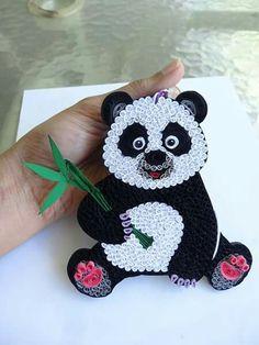 Quilling Panda