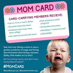 MomsRising.org | Send Congress a #MomCard about Paid Family Leave, Equal Pay, and Affordable Childcare!