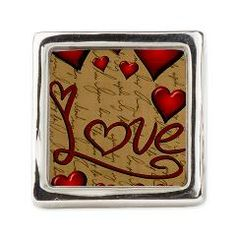 Love and Hearts Square Ring> Totes, Accessories, Accoutrements and Such> Flawn Ocho