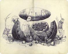 Pat Perry: Sketchbook
