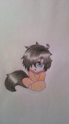 Mais um desenho lindo, de uma pessoa linda, para uma pasta linda ^^