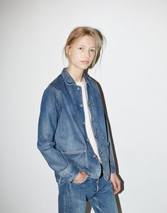 Whether you dress it up, or grunge it down. Dare to double denim!