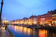 Copenhagen, Denmark - A friendly and reasonable culture. Beautiful canal!
