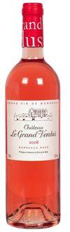 Château Le Grand Verdus 2009 Bordeaux Rosé (rose, under $10)