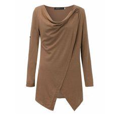 Long Sleeve Cowl Neck Knitt Sweater