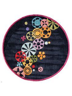 Momeni Rugs Flower Fun RugRound