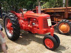 1950 Case SC tractor