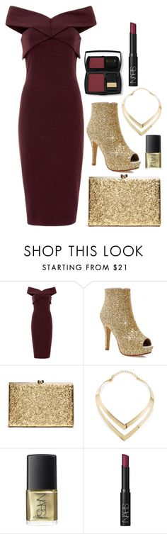 """""""Winter Fashion #4"""" by ethenknowsfashion on Polyvore featuring Finders Keepers, Fortuni, NARS Cosmetics, Lancôme, women's clothing, women's fashion, women, female, woman and misses"""